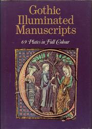 Cover of: Gothic illuminated manuscripts