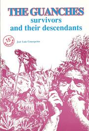 Cover of: The Guanches | José Luis Concepción