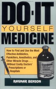 Cover of: Do-it yourself medicine