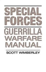 Cover of: Special Forces Guerrilla Warfare Manual