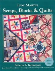 Cover of: Scraps, Blocks & Quilts | Judy Martin
