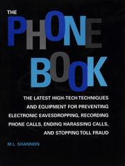 Cover of: Phone Book