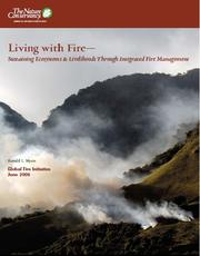 Cover of: Living with fire | Ronald L. Myers