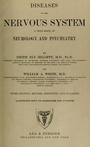 Cover of: Diseases of the nervous system | Jelliffe, Smith Ely