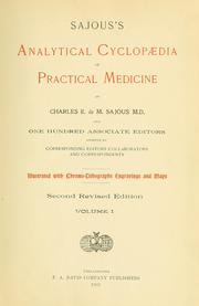 Cover of: Sajous's analytical cyclopædia of practical medicine | Charles E. de M. Sajous