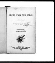 Cover of: A crown from the spear by C. V. Jamison