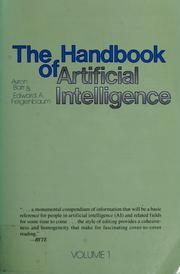 Cover of: The Handbook of artificial intelligence, volume 2 by Avron Barr