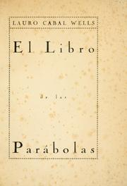 Cover of: El libro de las parábolas | Lauro Cabal Wells