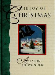 Cover of: The Joy of Christmas a Season of Wonder |