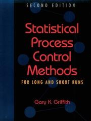 Cover of: Statistical process control methods for long and short runs