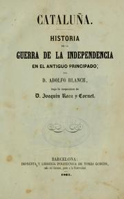 Cover of: Cataluña by Adolfo Blanch