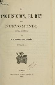 Cover of: La inquisicion | Florencio Luis Parreño