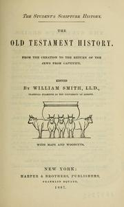 Cover of: The Old Testament history | Sir William Smith