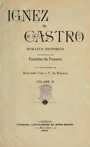 Cover of: Ignez de Castro by Faustino da Fonseca