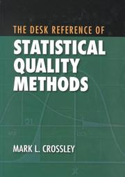 Cover of: The desk reference of statistical quality methods