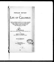 Cover of: Popular history of the life of Columbus by J. H. Langille
