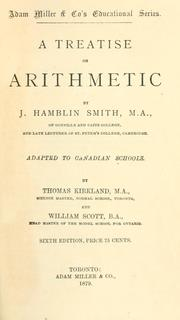 Cover of: A treatise on arithmetic by J. Hamblin Smith