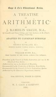 Cover of: A treatise on arithmetic | J. Hamblin Smith