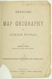 Cover of: Exercises in map geography for junior pupils | George Moir