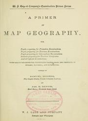 Cover of: A primer of map geography | Hughes, Samuel Sir