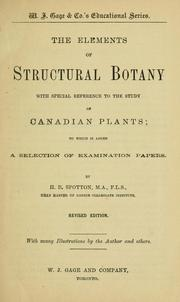 Cover of: The commonly occurring wild plants of Canada | H. B. Spotton