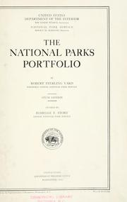 Cover of: The national parks portfolio | United States. National Park Service.