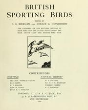 Cover of: British sporting birds | F. B. Kirkman