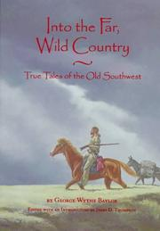 Cover of: Into the far, wild country