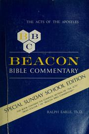 Cover of: Beacon Bible commentary by Dr. Ralph Earle