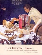 Cover of: Jules Kirschenbaum