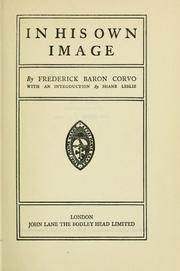 Cover of: In his own image by Frederick William Rolfe