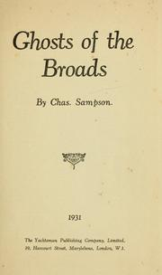 Cover of: Ghosts of the Broads | Charles Sampson