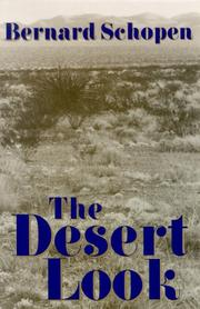 Cover of: The desert look