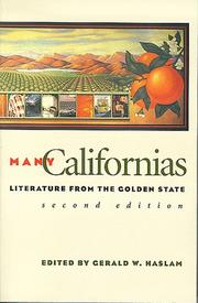Cover of: Many Californias: Literature from the Golden State (Western Literature Series)