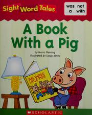 Cover of: A book with a pig by Maria Fleming