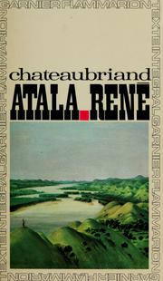 Cover of: Atala by François-René de Chateaubriand