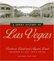 Cover of: A short history of Las Vegas