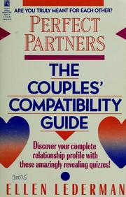Cover of: Perfect partners | Ellen Lederman