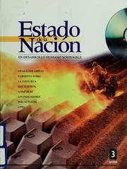Cover of: Estado de la nación en desarrollo humano sostenible by