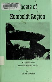 Cover of: Ghosts of Humboldt region by Dave Basso