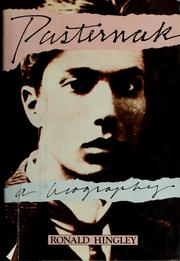 Pasternak by Ronald Hingley