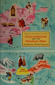 Cover of: Afghanistan and the Himalayan states | Patricia Kingsbury