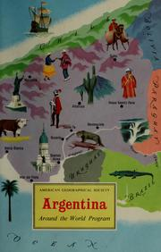 Cover of: Argentina by Richard P. Momsen