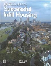 Cover of: Developing Successful Infill Housing