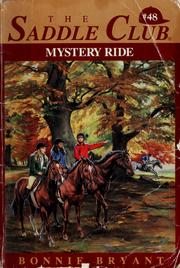 Cover of: Mystery ride | Bonnie Bryant