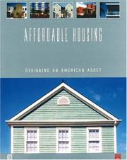 Cover of: Affordable Housing | Adrienne Schmitz