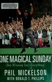 Cover of: One magical Sunday