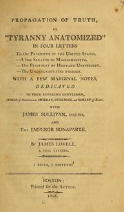 Cover of: Propagation of truth | James Lovell