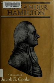 Cover of: Alexander Hamilton | Jacob Ernest Cooke