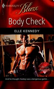 Cover of: Body check | Elle Kennedy